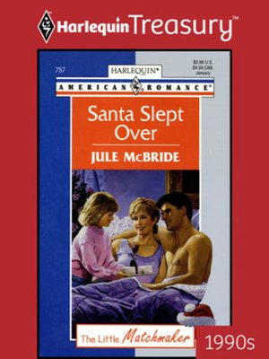 cover image of Santa Slept Over