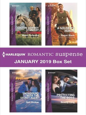 cover image of Harlequin Romantic Suspense January 2019 Box Set