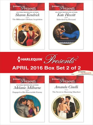 cover image of Harlequin Presents April 2016, Box Set 2 of 2