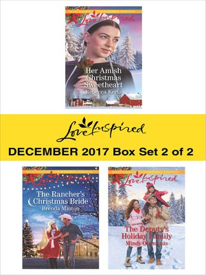 cover image of Harlequin Love Inspired December 2017--Box Set 2 of 2