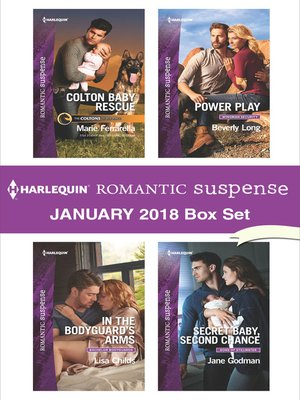 cover image of Harlequin Romantic Suspense January 2018 Box Set