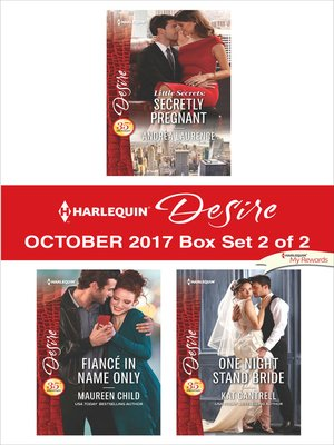 cover image of Harlequin Desire October 2017--Box Set 2 of 2