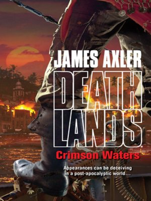 cover image of Crimson Waters