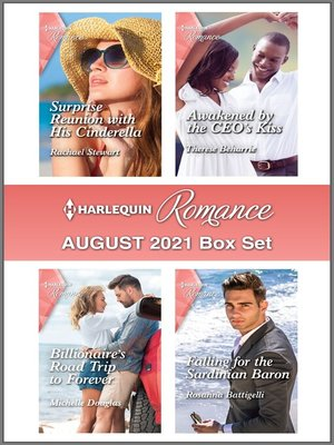 cover image of Harlequin Romance August 2021 Box Set
