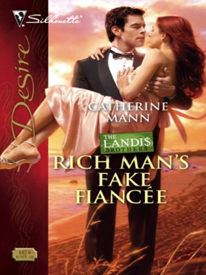 cover image of Rich Man's Fake Fiancee