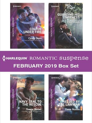 cover image of Harlequin Romantic Suspense February 2019 Box Set