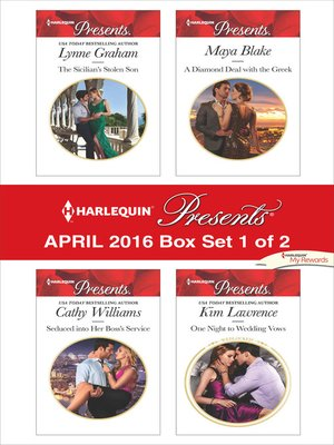 cover image of Harlequin Presents April 2016, Box Set 1 of 2