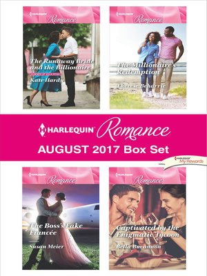cover image of Harlequin Romance August 2017 Box Set