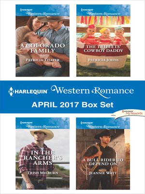 cover image of Harlequin Western Romance April 2017 Box Set