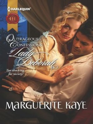 cover image of Outrageous Confessions of Lady Deborah