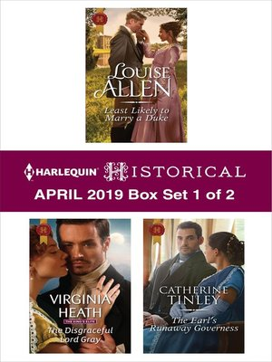 cover image of Harlequin Historical April 2019--Box Set 1 of 2