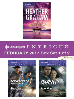 cover image of Harlequin Intrigue February 2017, Box Set 1 of 2
