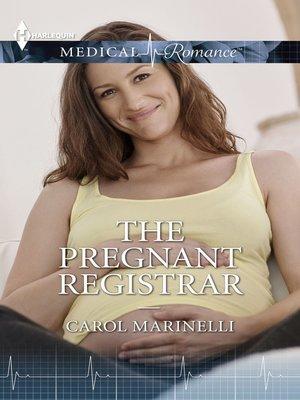 cover image of The Pregnant Registrar