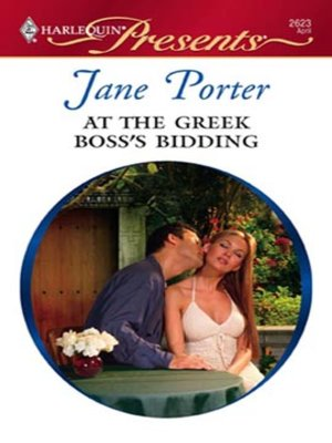 cover image of At the Greek Boss's Bidding