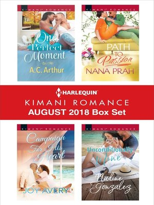 cover image of Harlequin Kimani Romance August 2018 Box Set