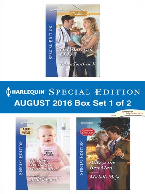 cover image of Harlequin Special Edition August 2016 Box Set 1 of 2