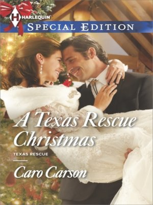 cover image of A Texas Rescue Christmas