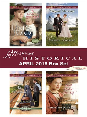 cover image of Harlequin Love Inspired Historical April 2016 Box Set