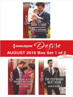 cover image of Harlequin Desire August 2016, Box Set 1 of 2