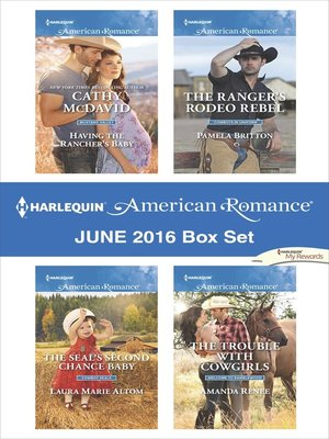 cover image of Harlequin American Romance June 2016 Box Set