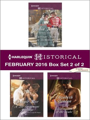 cover image of Harlequin Historical February 2016, Box Set 2 of 2