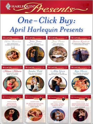 cover image of One-Click Buy: April Harlequin Presents