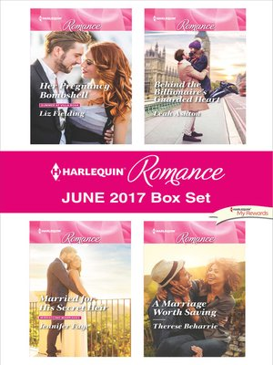 cover image of Harlequin Romance June 2017 Box Set