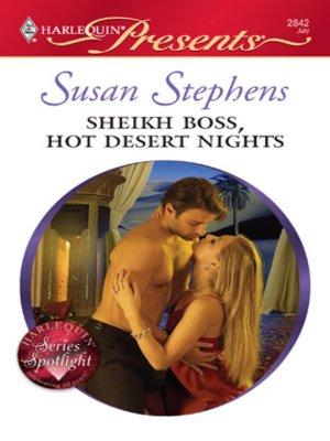 cover image of Sheikh Boss, Hot Desert Nights