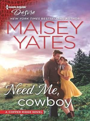 cover image of Need Me, Cowboy