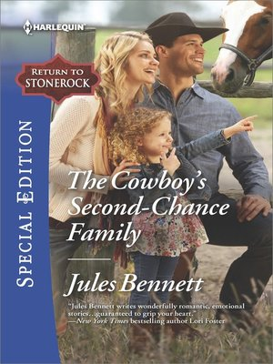 cover image of The Cowboy's Second-Chance Family