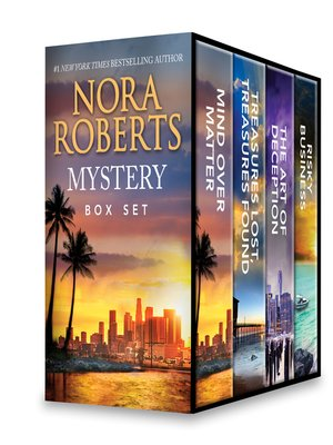 cover image of Nora Roberts Mystery Box Set