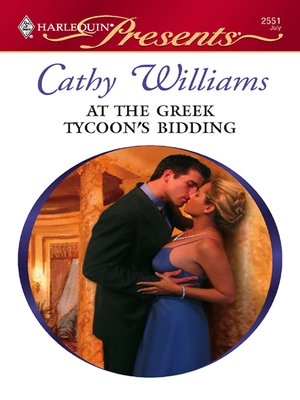 cover image of At the Greek Tycoon's Bidding