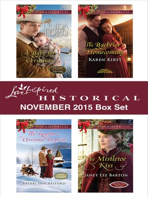 cover image of Love Inspired Historical November 2015 Box Set
