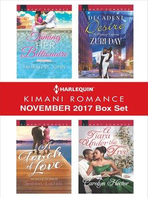 cover image of Harlequin Kimani Romance November 2017 Box Set