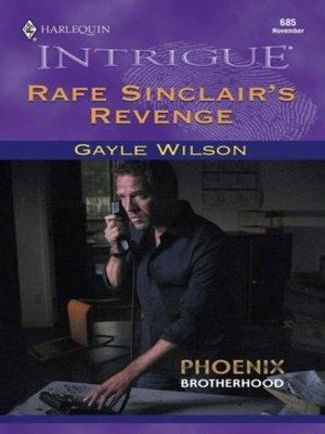 cover image of Rafe Sinclair's Revenge