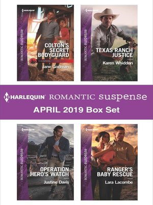cover image of Harlequin Romantic Suspense April 2019 Box Set