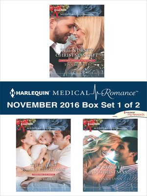 cover image of Harlequin Medical Romance November 2016, Box Set 1 of 2
