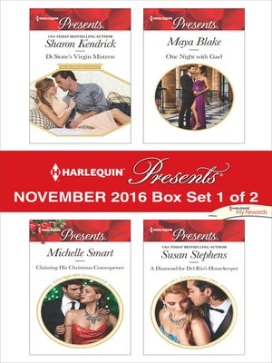 cover image of Harlequin Presents November 2016, Box Set 1 of 2