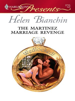cover image of The Martinez Marriage Revenge