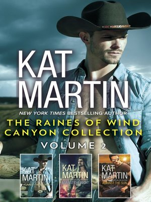 cover image of The Raines of Wind Canyon Collection Volume 2--An Anthology