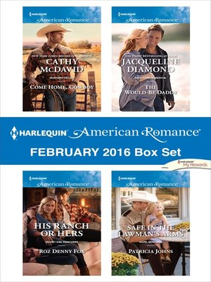 cover image of Harlequin American Romance February 2016 Box Set