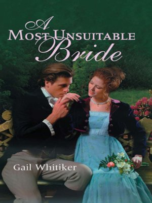 cover image of A Most Unsuitable Bride