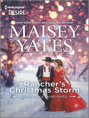 cover image of Rancher's Christmas Storm--A Western snowbound romance
