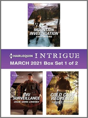 cover image of Harlequin Intrigue March 2021--Box Set 1 of 2