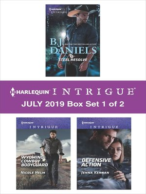 cover image of Harlequin Intrigue July 2019, Box Set 1 of 2