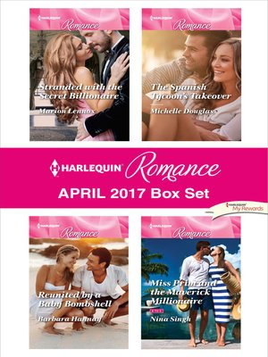 cover image of Harlequin Romance April 2017 Box Set
