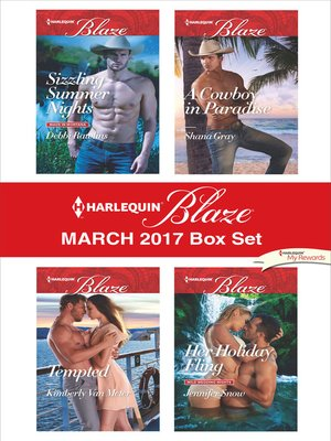 cover image of Harlequin Blaze March 2017 Box Set