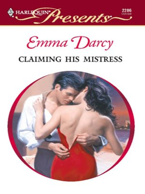 cover image of Claiming His Mistress