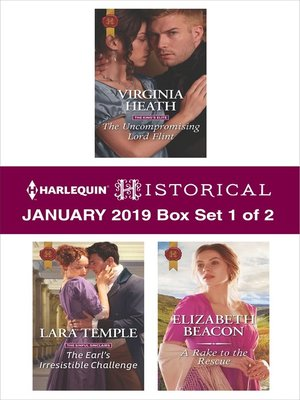 cover image of Harlequin Historical January 2019, Box Set 1 of 2