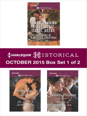 cover image of Harlequin Historical October 2015, Box Set 1 of 2